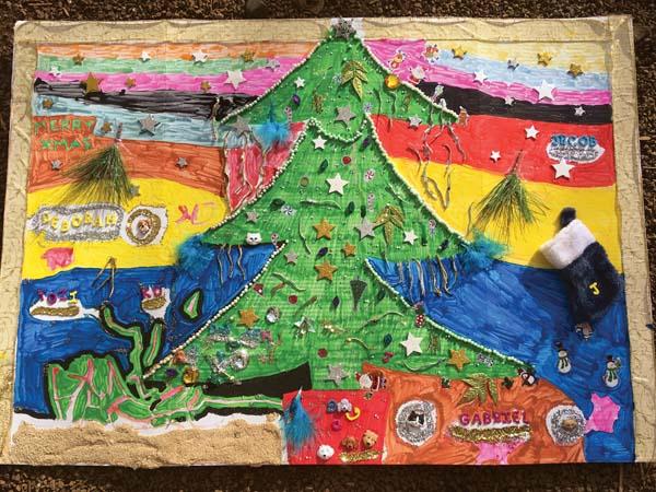 C11 Christmas card