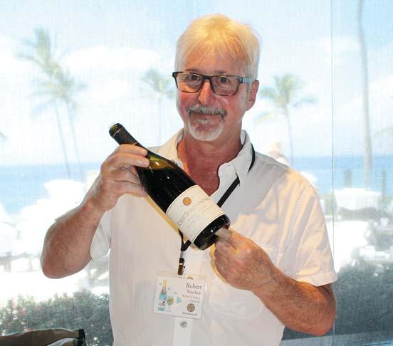 Rob Sinskey of Robert Sinskey Vineyards -- The Maui News / CARLA TRACY photo