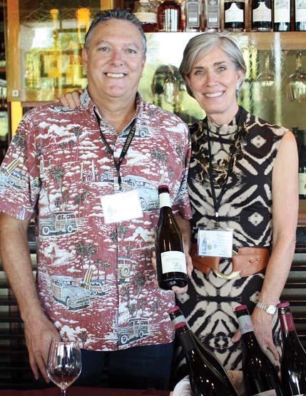 Chambers & Chambers' Charles Fredy and Suzanne Chambers -- The Maui News / CARLA TRACY photo
