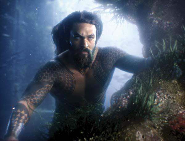 "Jason Momoa stars in ""Justice League."" Warner Bros. Entertainment photo via AP"