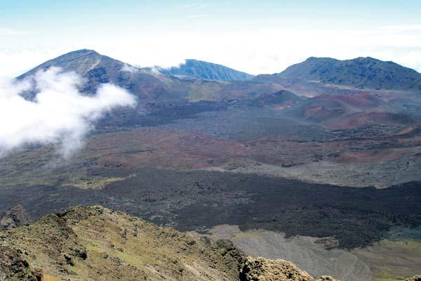 The National Park Service is proposing a plan to rehabilitate the Kalahaku Overlook at Haleakala National Park. Haleakala National Park photo