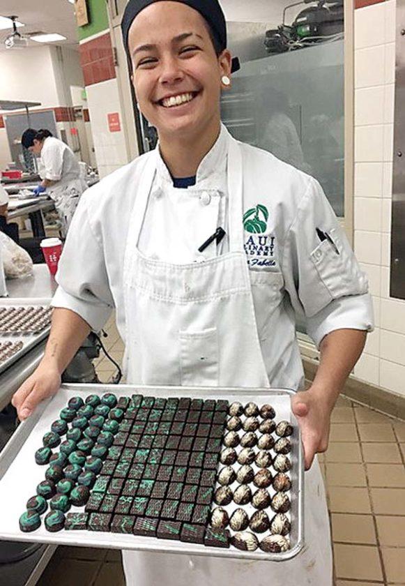 Deedra Fabella, from The Back Door Bake Shop at UHMC • Shop Monday-Wednesday. Photo courtesy The Back Door Bake Shop
