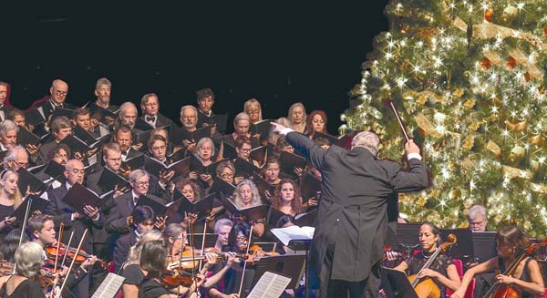 Maui Chamber Orchestra performing last year. Maui Chamber Orchestra, Holiday Concert • Saturday & Sunday; courtesy Maui Chamber Orchestra.