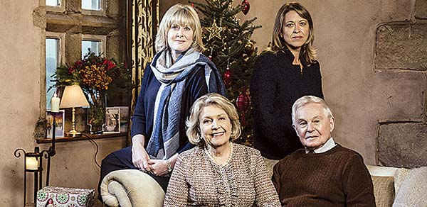 """Last Tango in Halifax"" holiday special will air in two parts at 7 p.m. today and Dec. 24, bringing warmth and cheer to the season. -- PBS photo"