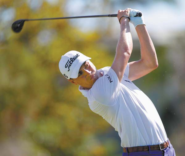 Justin Thomas started last year with victories at the Tournament of Champions and the Sony Open before winning his first major, the PGA Championship at Quail Hollow, and adding titles at the Dell Technologies Championship and CJ Cup. AP file photo