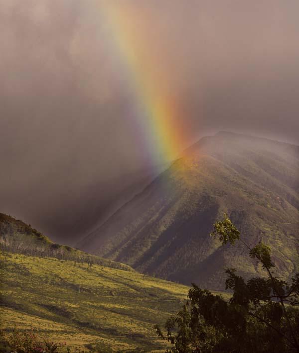 mt lahaina rainbow 12-15-17