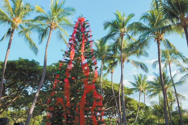 Grand Wailea, A Waldorf Astoria Resort will present varied options for diners this holiday season. Make sure to bring your appetites and take pictures as there is magic in the air. Photo courtesy Grand Wailea