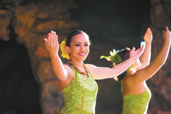 Drums of the Pacific Lu'au is just one of several options at the Hyatt Regency Maui Resort & Spa in Kaanapali over the holidays. Photo courtesy Hyatt Maui