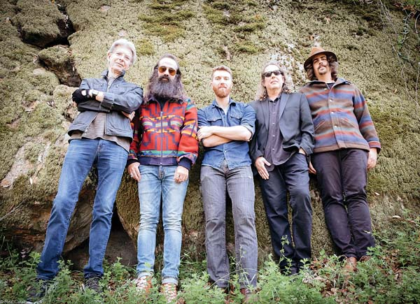 Phil Lesh (from left), Ross James, Grahame Lesh, Jason  Crosby and Alex Koford return to Maui for two shows at the MACC. Photo courtesy the artists