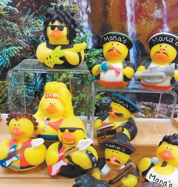 This month's Bucks for Ducks program benefits Mana'o Radio. -- Photo courtesy Art on Market