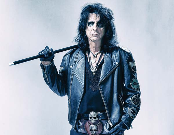"""Alice Cooper is one of the """"friends"""" at Willie K's Blues Fest Saturday at the MACC. Photo courtesy Paranormal Press"""
