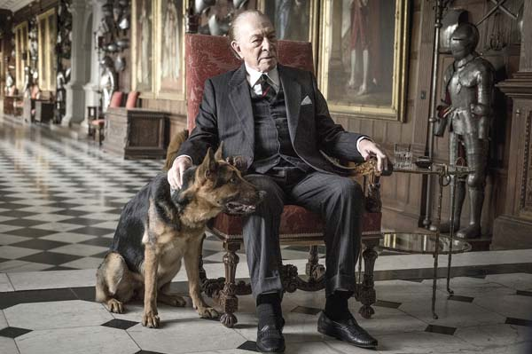 "Christopher Plummer stars as  billionaire J. Paul Getty in ""All the Money in the World."" Invision photo via AP"