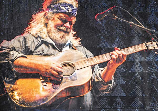 Leftover Salmon's Vince Herman at Charley's tonight and Friday; photo courtesy Charley's.