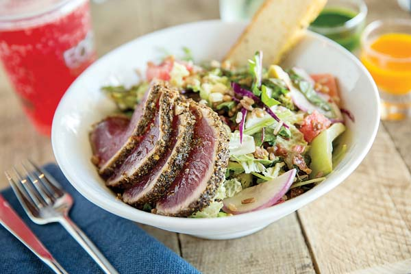 Fork & Salad at Azeka Mauka in Kihei is dishing up more than 50 ingredients, fast friendly counter service, signature build-your-own salads, soups, sandwiches and gluten-free and keiki options. Fork & Salad photo