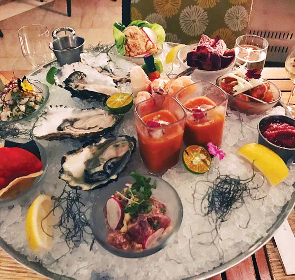 The seafood tower may complement the grilled meats (third photo), which is served as an all-you-can eat affair.