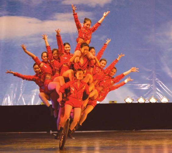 New Shanghai Circus; photo courtesy the Maui Arts and Cultural Center.