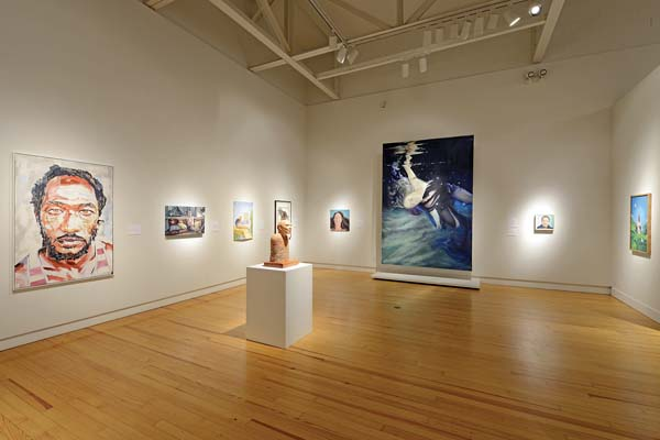 Gallery view from the last Schaefer Portrait Challenge in 2015 -- Photo courtesy Schaefer International Gallery