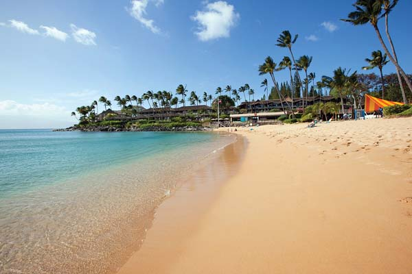 Napili Bay fronting the resort is one of Maui's most popular recreation areas. -- Napili Kai Beach Resort photo