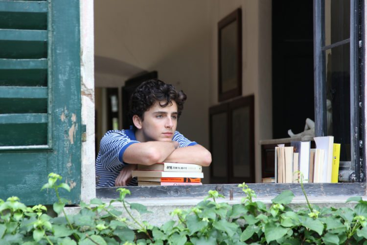 "Timothee Chalamet is a young man discovering himself in ""Call Me by Your Name"" • Sony Pictures Classics via AP"