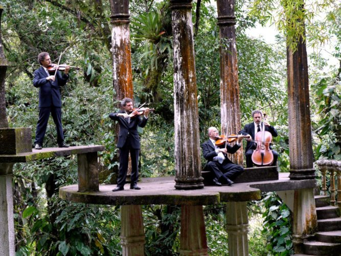 Cuarteto Latinoamericano at the Castle Theater at MACC • Tonight; photo courtesy Maui Arts & Cultural Center.