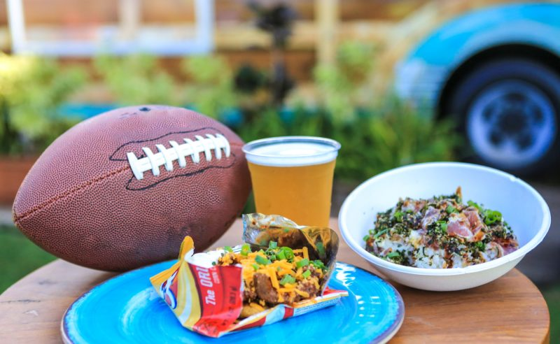 The Westin Ka'anapali Ocean Resort Villas will put on a beachside Super Bowl party at its Pailolo Bar & Grill with a giant LED wall along with game-day inspired food and drink from poke bowls to Double Bacon Hail Marys. • BLINNK Photography photo