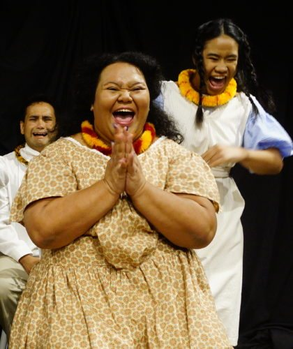 "(Above, from left) James Keawe Bright, Leleaa Buffy Kahalepuna-Wong and Anette Arinix star in ""Wild Birds"". Performances are 7:30 p.m. Friday and Saturday in the McCoy Studio Theater at the Maui Arts & Cultural Center in Kahului. Tickets are $28 (plus applicable fees). To purchase tickets for any MACC event, visit the  box office, call 242-7469 or order online at www.mauiarts.org. • Photo coutesy Denise De Guzman"
