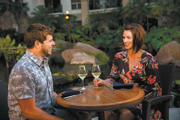 Taste the Stars will launch on Valentine's Day at the Westin Ka'anapali Ocean Resort Villas intimate garden area with bubbly and a five-course gourmet meal by Chef Jesse Pita. Westin Ka'anapali Ocean Resort Villas photo