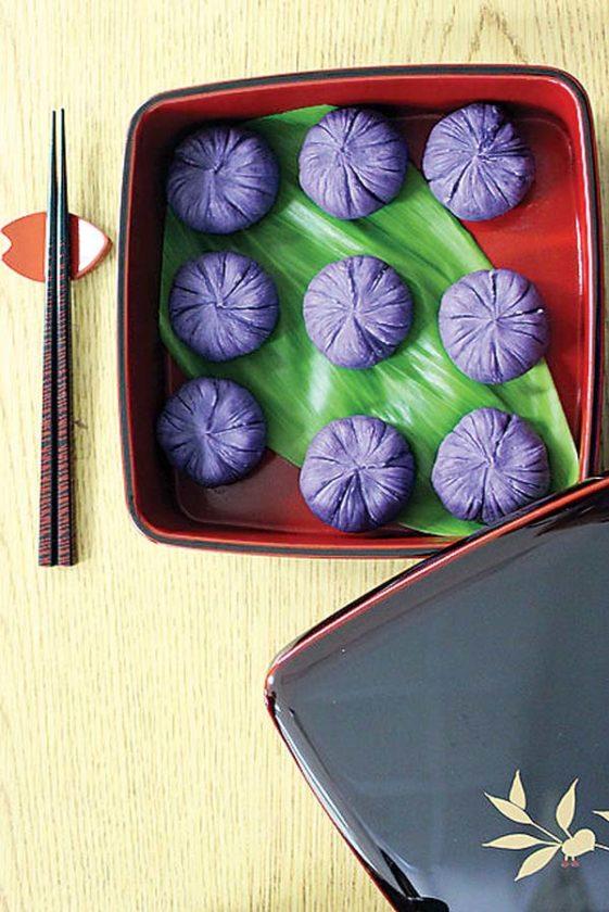 Baldwin High School educational assistant Satoko Kiyabu won for Best  Presentation for her sweet potato dish.