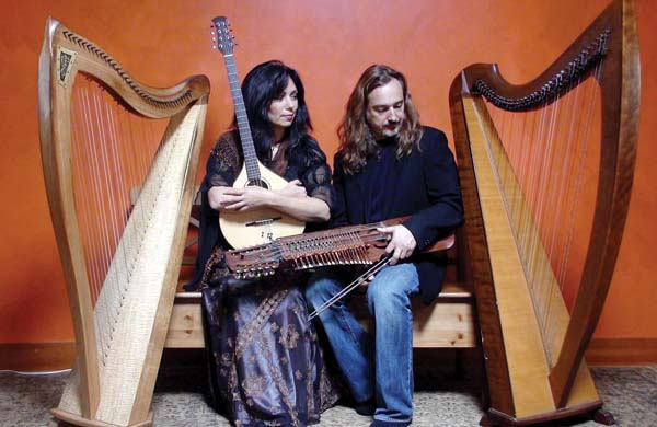 Lisa Lynne and Aryeh Frankfurter will perform traditional instrumental music from Sweden and Ireland as well as original compositions blended with stories of humor and adventure.