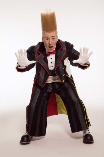 "Bello Nock, who has appeared on ""America's Got Talent,"" will be performing with the Super American Circus, which comes to War Memorial Stadium March 16 to 18 as part of a Hawaii tour."