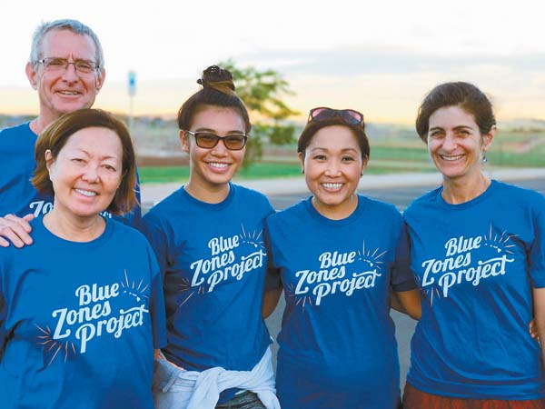 The Kahului Kruisers Walking Moai spent 10 weeks walking together and have stayed connected beyond that time frame through vegetarian potlucks and attending community events together. -- Photo courtesy Blue Zones Project