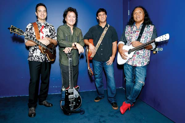 "Alx Kawakami (from left), Johnny Valentine and Blayne Asing join Henry Kapono for ""The Songs of C&K Hana Hou!"" at 7:30 p.m. Saturday in Castle Theater at the Maui Arts & Cultural Center in Kahului. Preshow festivities start at 5:30 p.m. in the Yokouchi Pavilion, and include island crafters with displays of local arts and crafts for purchase. Tickets are $15, $35, $45 and $55, with a limited amount of $125 VIP ""Hangin' With Henry"" Experience tickets (plus applicable fees). The VIP Experience includes an intimate pre-show acoustic performance, talk story, meet and greet, photo opportunity and a commemorative laminate. For tickets or information, visit the box office, call 242-7469 or go online at www.mauiarts.org. Photo courtesy the artist"