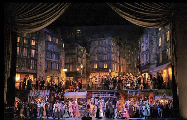 "Catch Franco Zeffirelli's production of Puccini's ""La Boheme"" in special screening Saturday. Metropolitan Opera via AP"