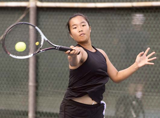 Maui High Tennis Teams Improve To 2 0 With Wins Over St Anthony