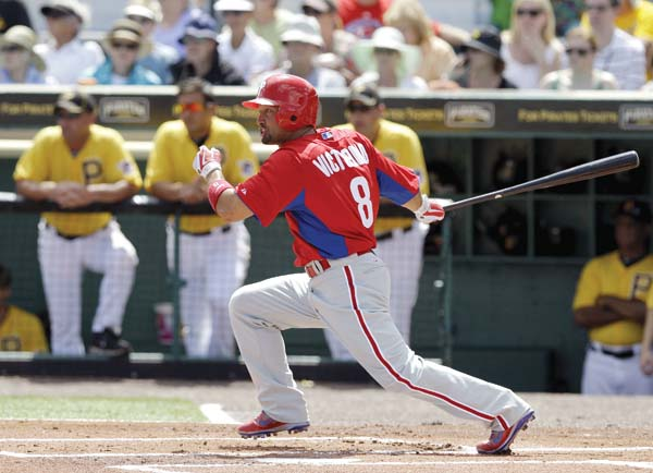 Shane Victorino Was A Two Time All Star Selection And World Series Champion In His 12 Year Major League Career AP File Photo