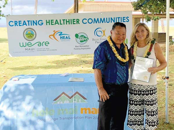 Campaign promotes safe, healthy mobility   News, Sports, Jobs - Maui News