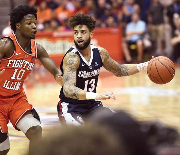 Zags beat Arizona in semis of Maui Invitational