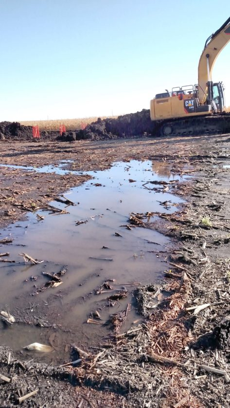 -Contributed file photo Long-term soil compaction, and its impacts, are on farmers' minds whose fields were ­crossed by the Dakota Access pipeline this year.