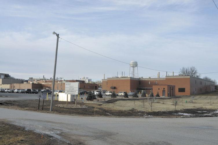 -Messenger photo by Chad Thompson  Elanco U.S. Inc. has purchased the Boehringer Ingelheim Vetmedica Inc. plant at 800 Fifth St. N.W.