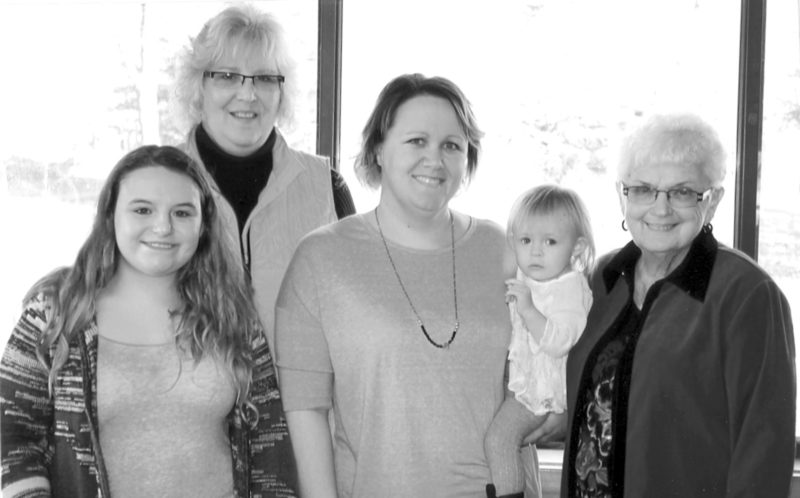Five generations of Deals gather