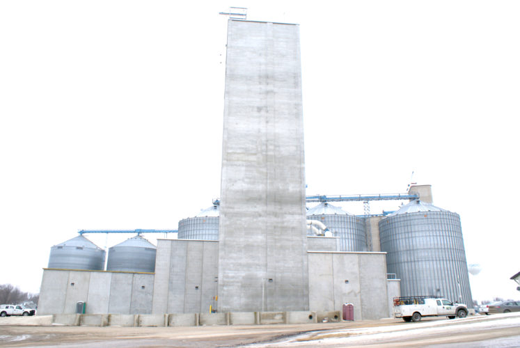 - Messenger photo by Dawn Bliss  The new pellet feed mill in Pomeroy, built and operated by NEW Cooperative, is the model design for another pellet mill in Rowan. Groundbreaking started in late-2016 near the Iowa Highway 3 intersection with Interstate 35.