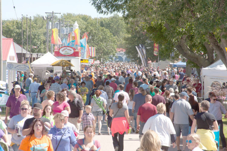 -File photo  More than 300,000 people will visit the Clay County Fair annually. The 2017 fair, its centennial year, can potentially be a record-breaker for attendance.