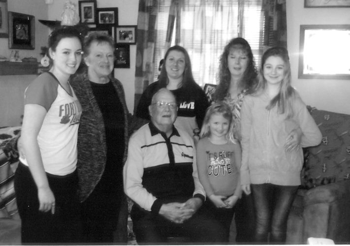 Five generations of Bieges gather