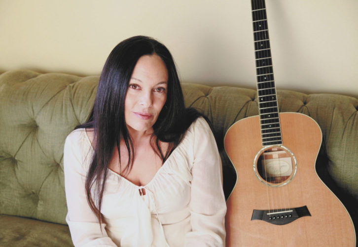 -Submitted photo American folk performer Jill Cohn will play Vineyard Vibrations Friday at Soldier Creek Winery.