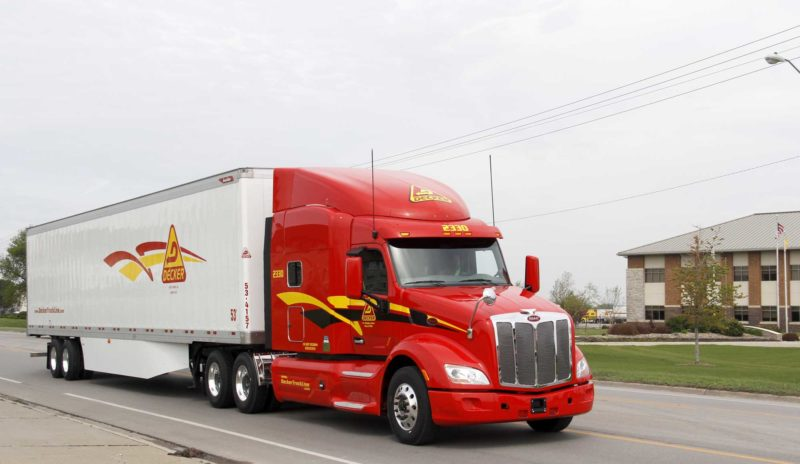 According to Dale Decker, executive vice president of Decker Truck Lines Inc., Fort Dodge, automation within the trucking industry is continuously being developed.