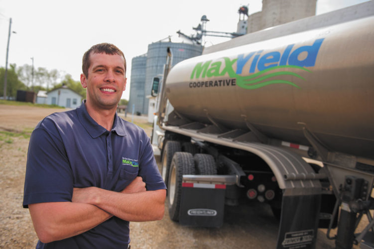 -Submitted photo  Steve Leman, a fuel transport driver for MaxYield Cooperative, is a three-time MaxYield All-Star Team member.