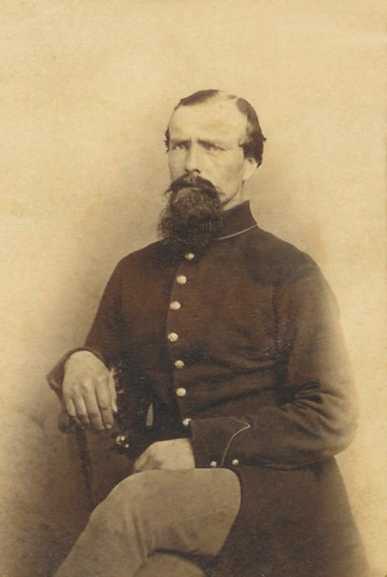 -Submitted photo Aquilla France, left and above, served as a private for the Union Army in the Civil War in two differentcompanies of the Wisconsin Volunteer Infantry. He was taken prisoner at Murfreesborough, Tennessee, andreturned home during one of theprisoner exchanges that predatedthe horrific AndersonvilleConfederate prisoner of war camp.He re-enlisted and subsequently served the Union Army in Virginia.He is buried in rural Hamilton County.