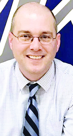 Submitted photo  Steve Neuberger was named the new activities director at St. Edmond on Friday, effective July 1.