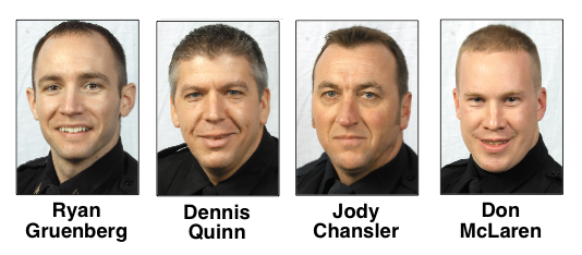 The City Council on Monday approved one new captain, one new lieutenant and two new sergeants.