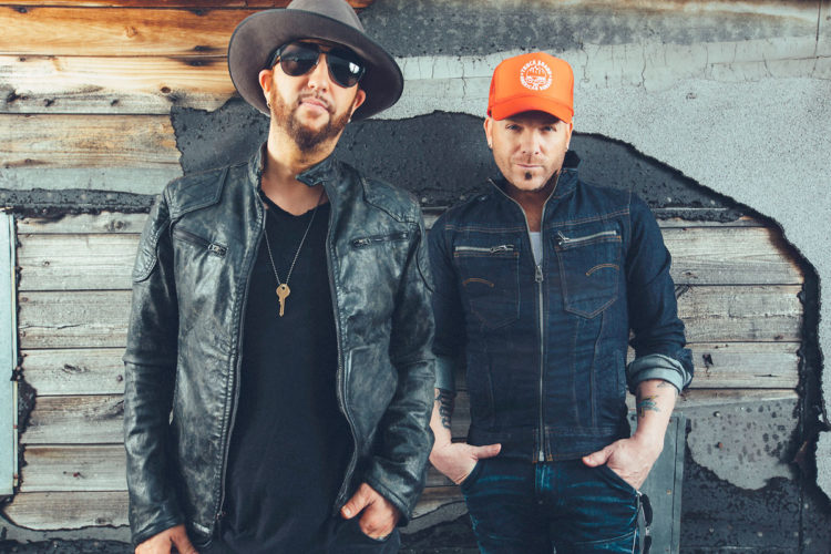 -Submitted photo  Country music duo LOCASH will headline the first Downtown Country Jam in Fort Dodge on Sept. 23.